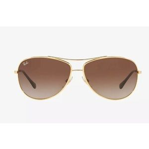 Ray-Ban RB3293 Sunglasses Arista Gold Brown Gradient Aviator Style Unisex